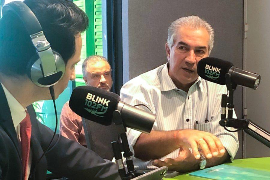 Podecast: investimento bilionário no MS; ouça a entrevista com o Governador na Blink102